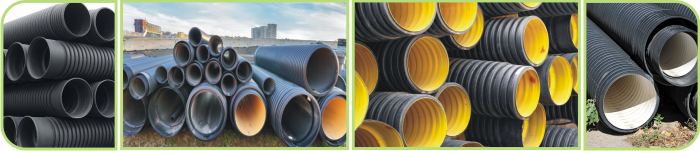 Double Wall HDPE Corrugated  Pipe Industry
